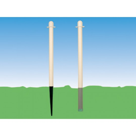 Ground Mounting Plastic Posts PS600/4